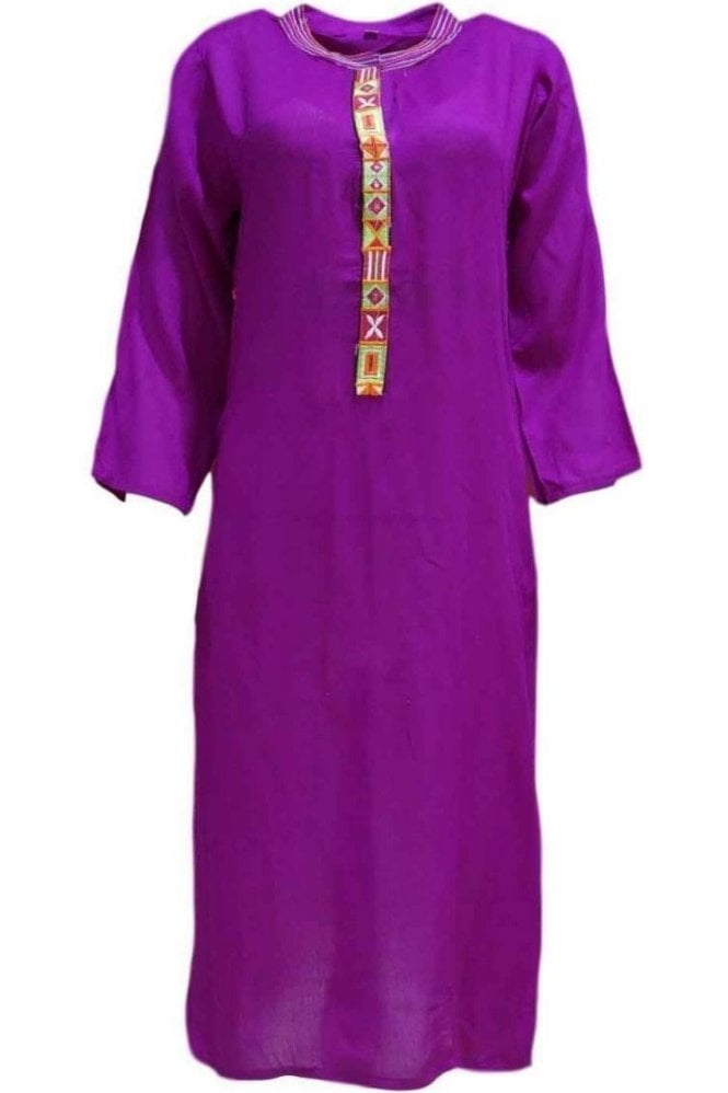 KUR19075 Stunning Pink and Multi Stunning Designer Kurti Tunic Top Dress