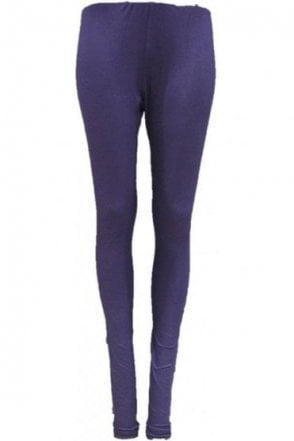 LEG19001 Navy Blue Ready Made Stretchable Leggings