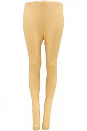 LEG19003 Golden Ready Made Stretchable Leggings