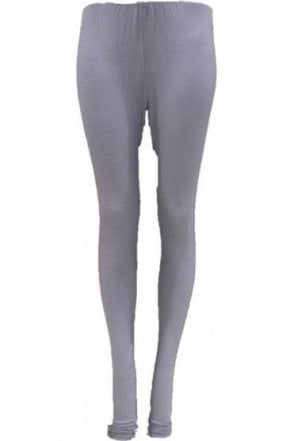 LEG19005 Silver Grey Ready Made Stretchable Leggings