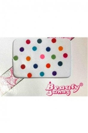 BIN502: Designer Pack of Multicoloured and Plain Dot Bindi's / Tattoos
