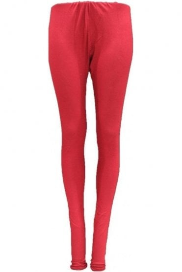 LEG19006 Maroon Ready Made Stretchable Leggings