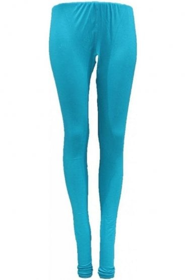 LEG19008 Jade Green Ready Made Stretchable Leggings