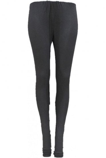 LEG19010 Black Ready Made Stretchable Leggings