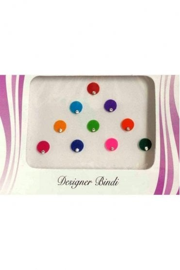 BIN510: Designer Pack of Multicoloured and Stone Bindi's / Tattoos